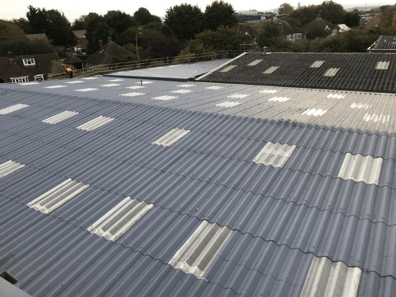 Asbestos Roof 800