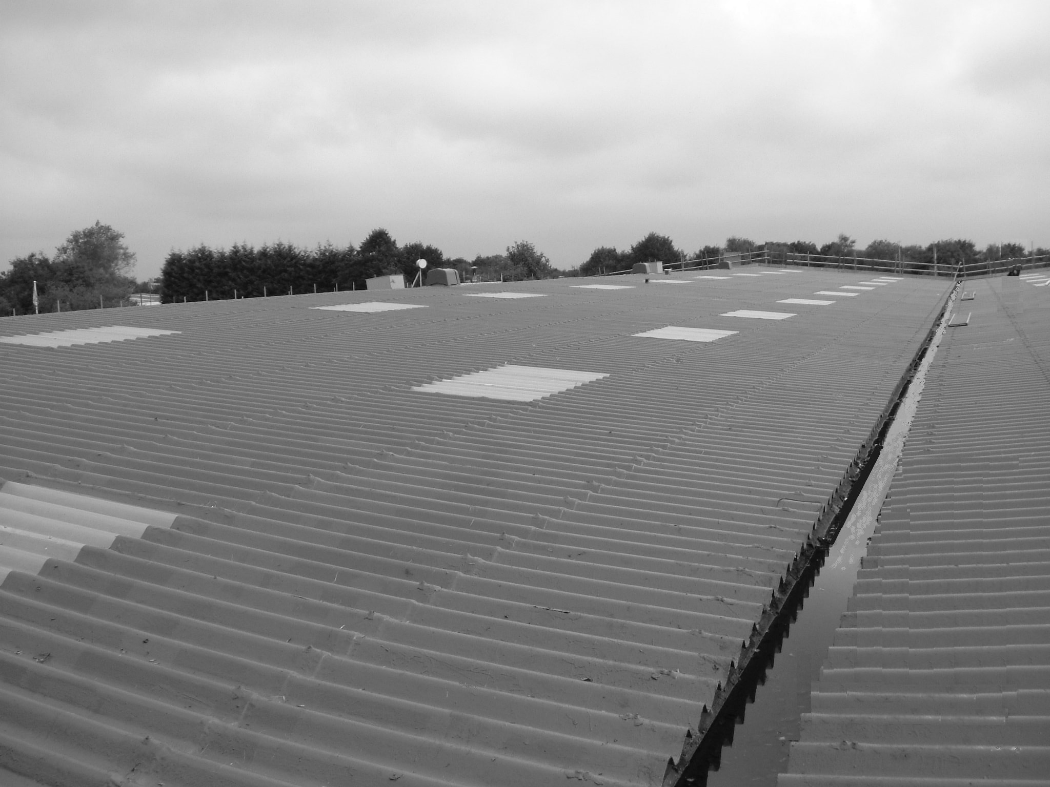 Asbestos Roofing Systems After