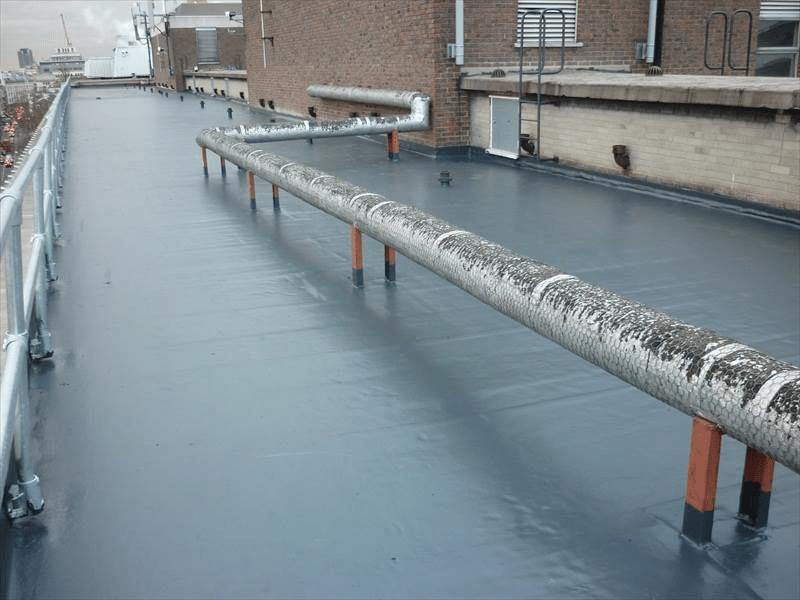 flat roof 2 800